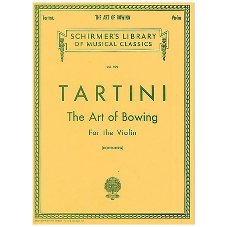 Tartini, G.: The Art of Bowing