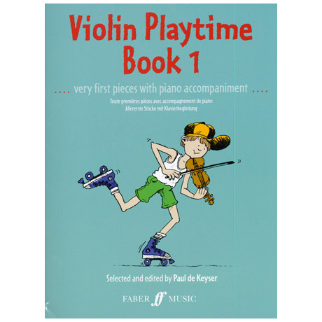 Violin Playtime 1 – Very first pieces