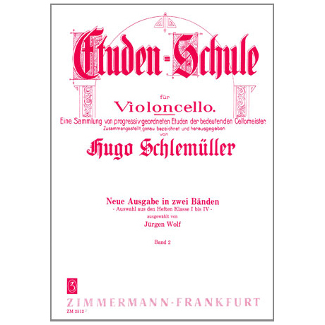 Schlemüller, G.: Etüden Schule Band 2