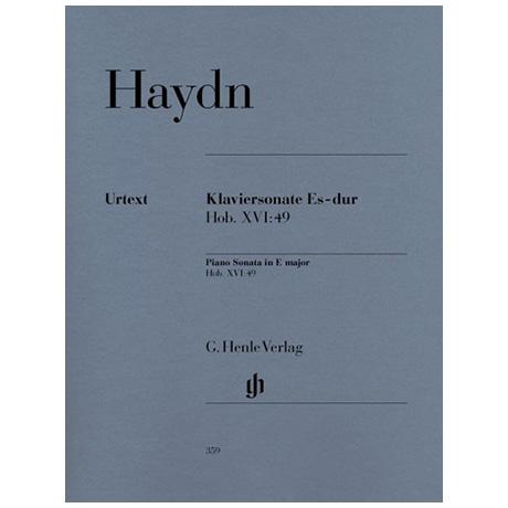 Haydn, J.: Klaviersonate Es-Dur Hob. XVI:49