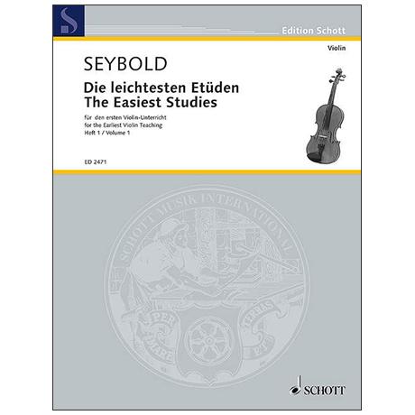 Seybold, A.: Die leichtesten Etüden Band 1
