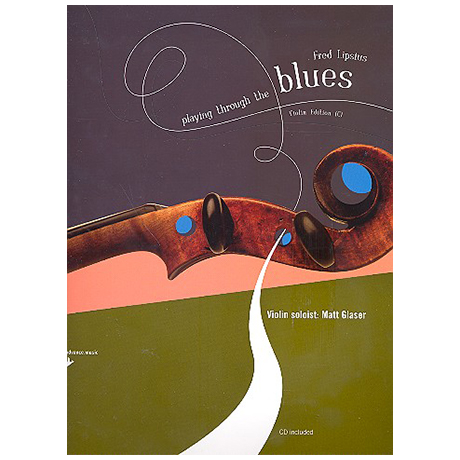 Lipsius, F.: Playing Through The Blues (+CD)