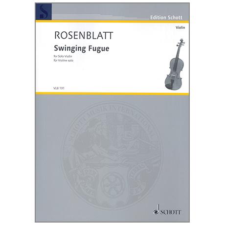 Rosenblatt, A.: Swinging Fugue