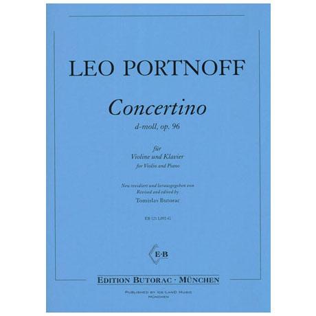 Portnoff, L.: Concertino d-Moll Op.96
