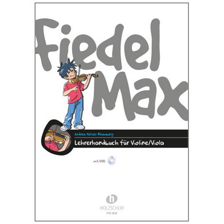 Holzer-Rhomberg, A.: Fiedel-Max für Violine (+DVD)