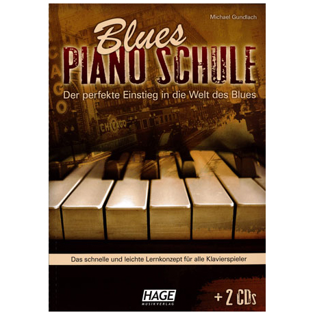 Gundlach, M.: Blues-Piano-Schule (+2CDs)