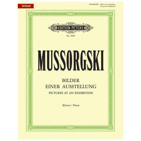Mussorgskij, M.: Bilder einer Ausstellung