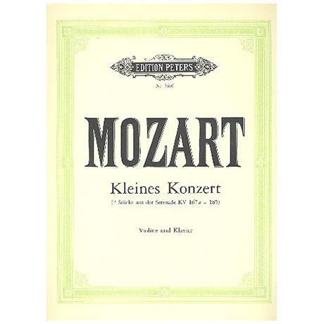 Mozart, W.A.: Kleines Konzert F-Dur aus KV185