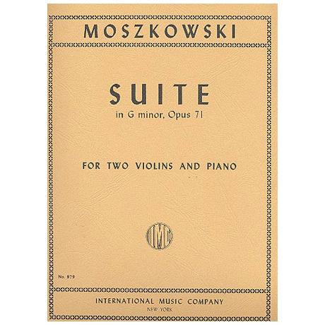 Moszkowski, M.: Suite op. 71