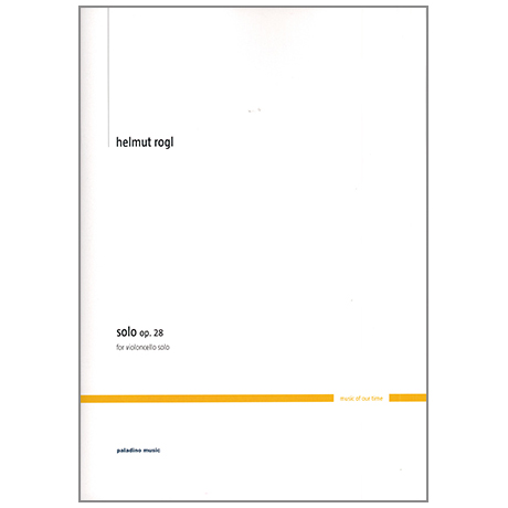 Rogl, H.: Solo Op.28
