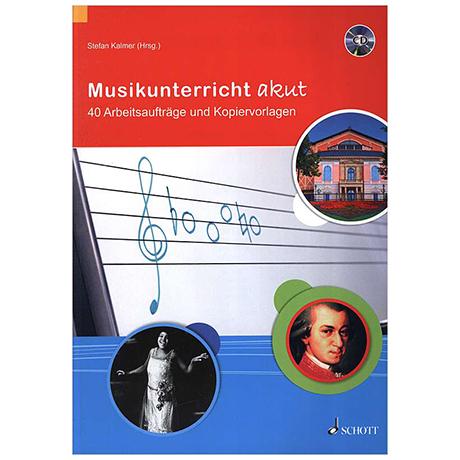 Kalmer, S.: Musikunterricht akut (+CD)