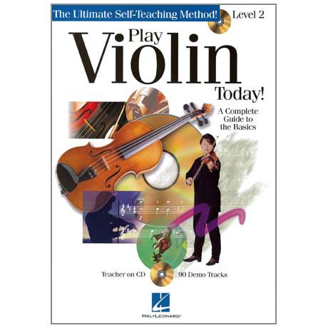 Play Violin Today Vol.2 (+CD)
