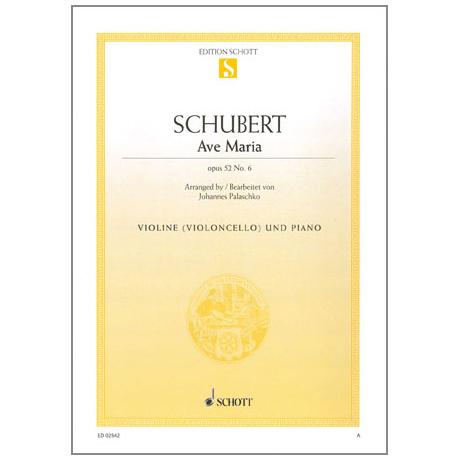 Schubert, F.: Ave Maria Op.52/6 D839