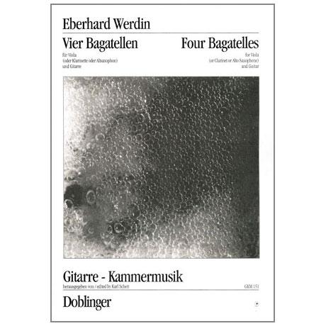 Werdin, E.: Vier Bagatellen