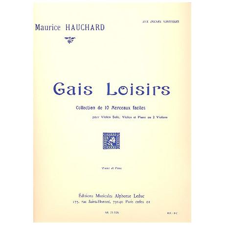 Hauchard, M.: Gais Loisirs