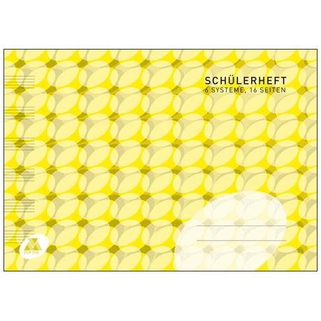 Schüler-Notenheft Din A5 quer