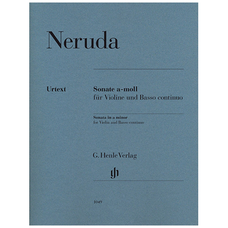 Neruda, J. B. G.: Sonate a-Moll
