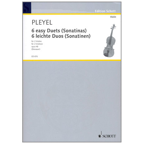 Pleyel, I.J.: 6 leichte Duos - Sonatinen Op.48