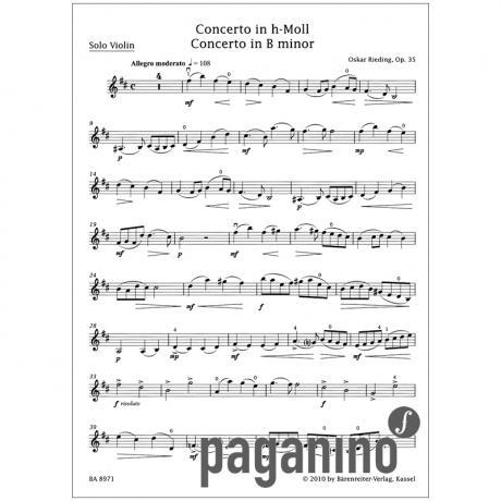 Paganino Noten