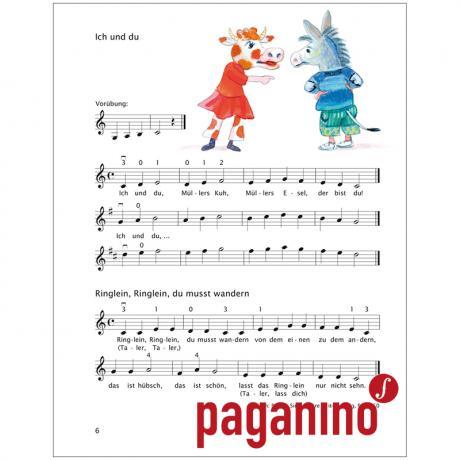 1 Bleistift Band 4 Violinenschule für Kinder Früher Anfang auf der Geige