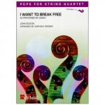 Pops for String Quartet - Queen: I Want to Break Free
