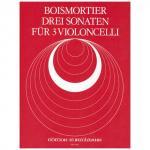 Boismortier, J. B. d.: 3 Violoncellosonaten