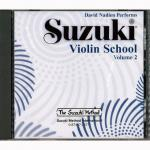 Suzuki Violin School Vol.2 – CD