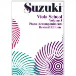 Suzuki Viola School Vol.5 – Piano Accompaniment