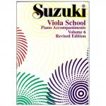 Suzuki Viola School Vol.6 – Piano Accompaniment
