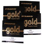 PYRAMID Gold Cellosaiten SATZ