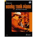 Veit, Stephen: Honky Tonk Piano - Play Songs & Improvise!