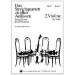 Das Streichquartett zu allen Anlässen Band 1 – Violine 2