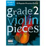Hussey, Ch.: Grade 2 Violin Pieces (+Download Card)
