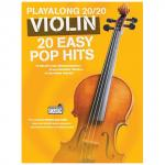 Playalong 20/20 Violin – 20 Easy Pop Hits (+Download Card)
