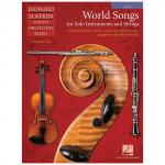 Slatkin, L.: World Songs for Solo Instruments and Strings – Einzelstimme Viola