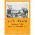 Telemann, G.P.: Sonate C-Dur TWV 40:203