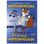 Notenrätsel für schlaue Notenfüchse Band 2