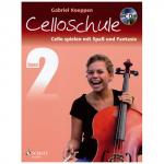 Koeppen, G.: Cello spielen mit Spaß und Fantasie Band 2 (+CD) - Schule