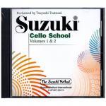 Suzuki Cello School Vol.1 & 2 – CD