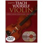Step One: Teach Yourself Violin (+2CDs, + DVD)