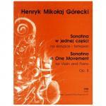 Górecki, H. M.: Violinsonatine Op. 8