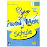 Holzer-Rhomberg: Fiedel - Max für Viola - Schule Band 3 (+CD)