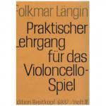 Längin, F.: Praktischer Lehrgang für das Violoncellospiel, Heft IV