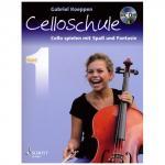 Koeppen, G.: Cello spielen mit Spaß und Fantasie (+CD) - Schule
