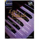 Schott Piano Lounge - Love Ballads (+CD)