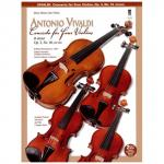Vivaldi: Concerto for four Violins (+2CDs)