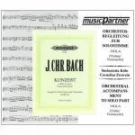 Bach, J. Ch.: Violakonzert c-Moll (Casadesus) – nur Begleit-CD