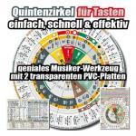 Musiker-Kompass »Tasten« - als Quintenzirkel