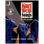 Weill, Kurt: Songs (+CD)