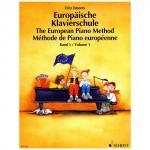 Emonts: Europäische Klavierschule Band 1 + CD
